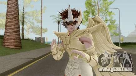 Pegasus Seiya In Sagittarius Golden Armor para GTA San Andreas