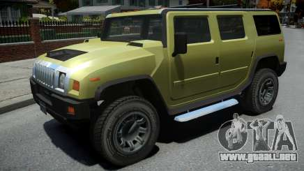 Mammoth Patriot para GTA 4
