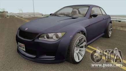 Ubermacht Sentinel XS Custom Stock GTA V para GTA San Andreas