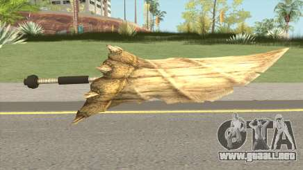 Monster Hunter Weapon V1 para GTA San Andreas