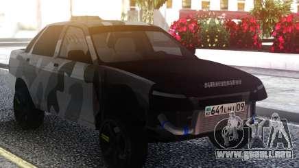 LADA 2170 Street Camo para GTA San Andreas