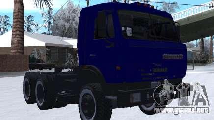 KamAZ 54115 INVIERNO para GTA San Andreas