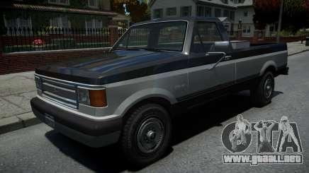 Vapid Sadler Retro Pick-Up Truck v1.2 para GTA 4