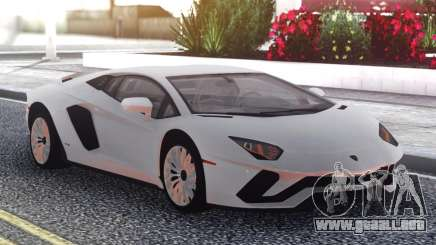 Lamborghini Aventador S para GTA San Andreas