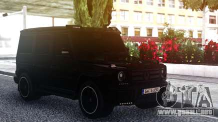 Mercedes-Benz G55 AMG BLACK para GTA San Andreas