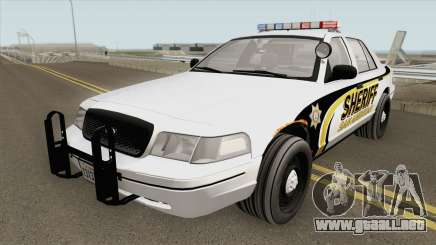 Ford Crown Victoria SACSO 2007 para GTA San Andreas