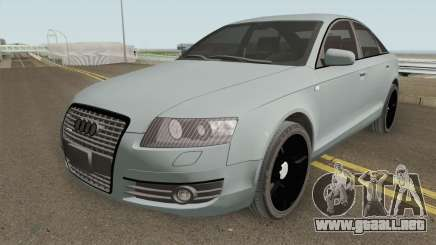 Audi A6 C6 Black Edition para GTA San Andreas