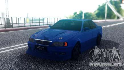 Toyota Chaser Blue Sedan para GTA San Andreas