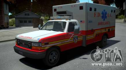 Vapid Ambulance Retro para GTA 4