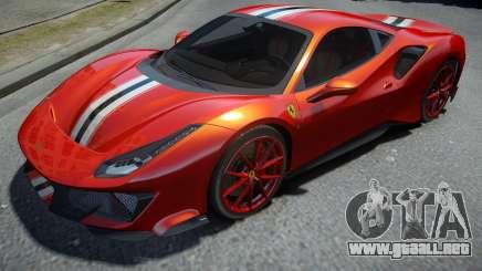 Ferrari 488 Pista 2019 para GTA 4