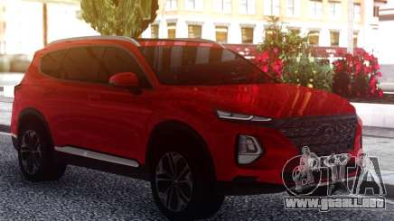 Hyundai Santa Fe FIX RED para GTA San Andreas