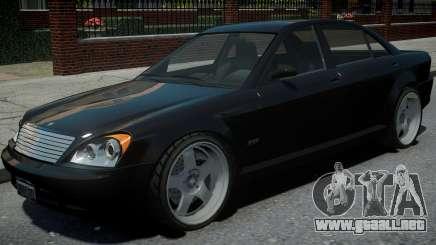 Schafter 1Gen Grey Series para GTA 4