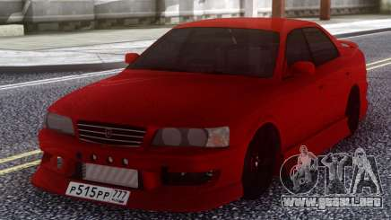 Toyota Chaser JZX 100 Red para GTA San Andreas
