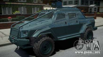 HVY Insurgent Pick-Up para GTA 4