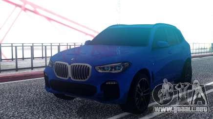 BMW X5 M-Sport G05 30d 2019 para GTA San Andreas