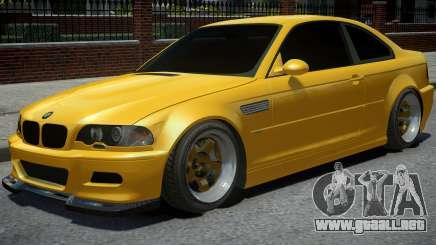 BMW M3 E46 Yellow para GTA 4