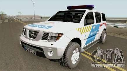 Nissan Pathfinder Magyar Rendorseg (Feher) para GTA San Andreas