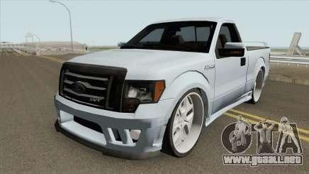 Ford Lobo SVT Lightning 2011 MQ para GTA San Andreas