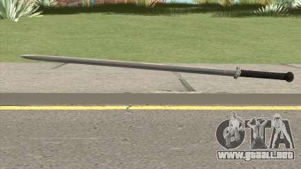 Silver Katana (Dynasty Han) para GTA San Andreas