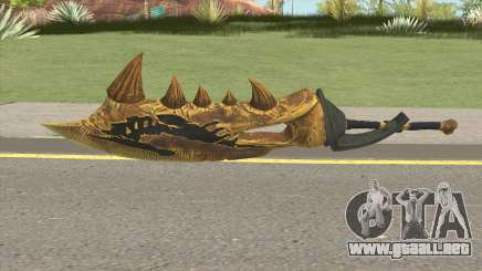 Monster Hunter Weapon V3 para GTA San Andreas