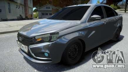 Lada Vesta Sedan para GTA 4