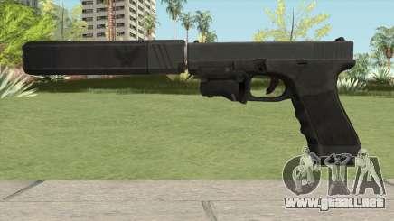 Glock 17 Laser Silenced para GTA San Andreas