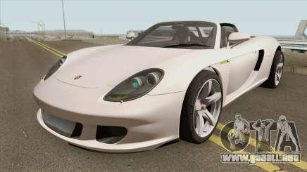Porsche Carrera GT 2003 HQ para GTA San Andreas