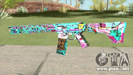M4 (Cartoon Skin) para GTA San Andreas