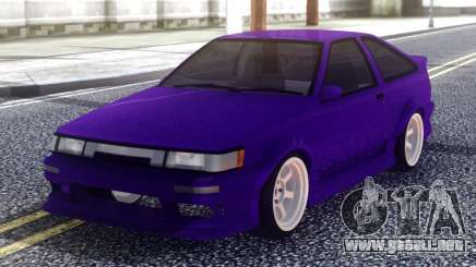 Toyota AE86 Sport para GTA San Andreas