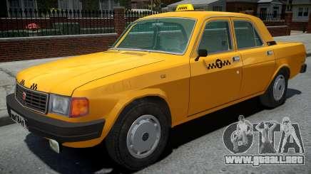 GAZ-31029 Taxi Amarillo para GTA 4