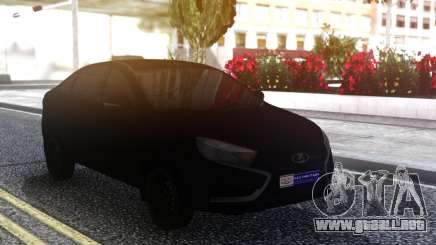 Lada Vesta All Black para GTA San Andreas