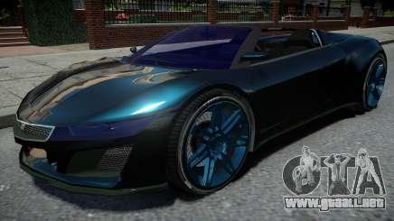 Dinka Jester Black para GTA 4