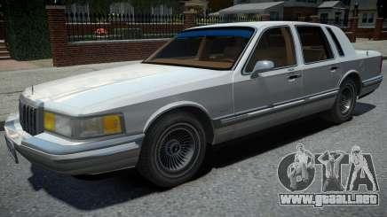 Lincoln Town Car 1990 para GTA 4