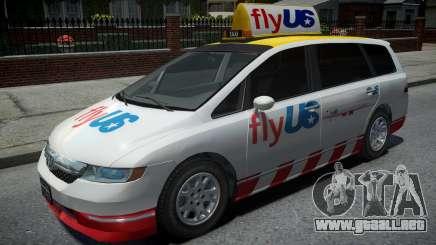 Honda Odyssey FlyUS 2006 para GTA 4