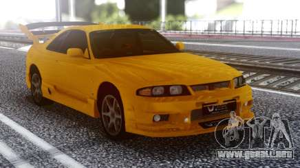 Nissan Skyline R32 GT-R Orange para GTA San Andreas