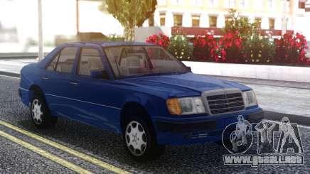 Mercedes-Benz W124 E500 Blue para GTA San Andreas