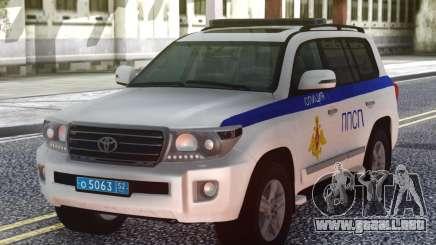 Toyota Land Cruiser UMVD de Rusia para GTA San Andreas