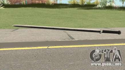 Iron Katana (Dynasty Han) para GTA San Andreas