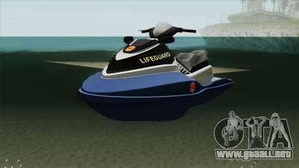 Seashark Lifeguard para GTA San Andreas