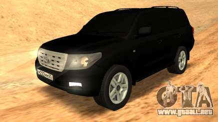 Toyota Land Cruiser 200 Stock para GTA San Andreas