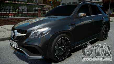 Mercedes-Benz ML 63 AMG para GTA 4