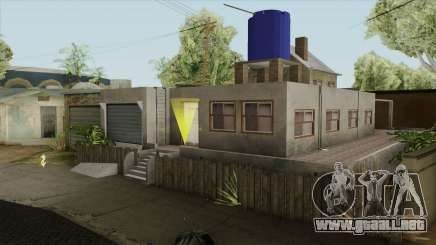 Carl New Home In Ganton para GTA San Andreas