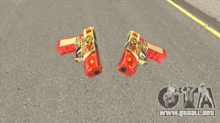 Rules of Survival G18C Suzaku para GTA San Andreas