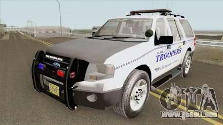 Ford Expedition 2008 (Alaska State Trooper) para GTA San Andreas