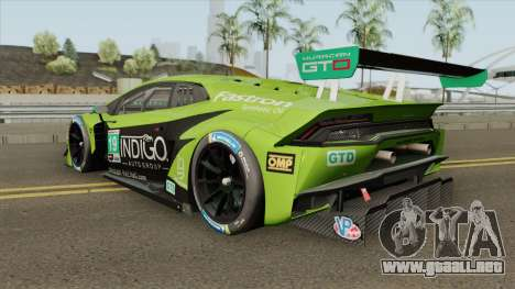 Lamborghini Huracan GT3 2018 para GTA San Andreas