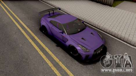 Nissan GTR R35 Aimgain Type 2 2017 para GTA San Andreas