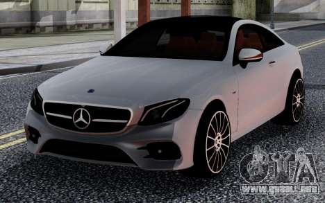 Mercedes-Benz E63 Coupe 2018 FIX para GTA San Andreas
