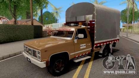 Chevrolet C10 Con Estacas para GTA San Andreas