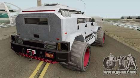 HVY Menacer GTA V para GTA San Andreas