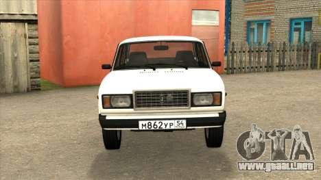 2107 de Drenaje para GTA San Andreas